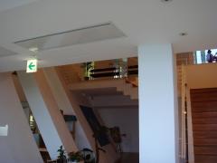 """建物探索""""足摺テルメ""""4階ホール"""