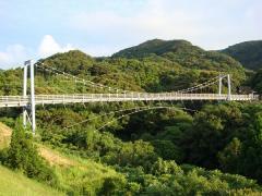 """""""足摺森林公園""""吊り橋"""